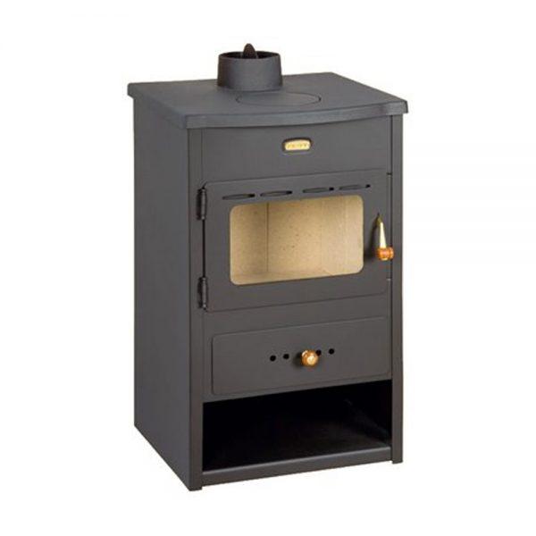 Kamin PRITY K1 Моќ:9 kW Погоден за простории до50 m2 Големина ( a x b x h /cm) : 45 x38 x 76 /cm Тежина : 61 кг