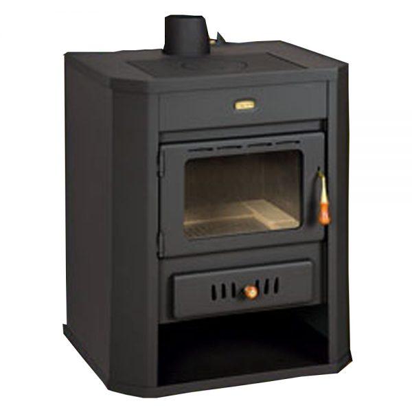 Kamin PRITY WD Y Моќ: 15 kW Погоден за простории до 83 m2 Големина ( a x b x h /cm) : 65 x 55 x 78 /cm Тежина : 119 кг