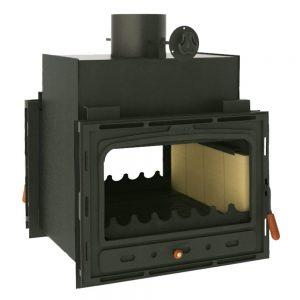 Vgraden Kamin PRITY 2 C Моќ: 16 kW Погоден за простории до90 m2 Големина ( a x b x h /cm) : 66 x 70 x 69 /cm Тежина : 113 кг
