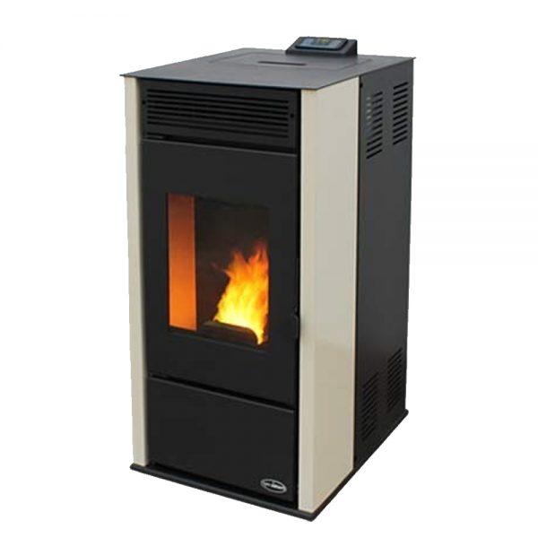 Kamin TIM SISTEM RITTIUM 7 Сила на каминот: 6,8,10 kW Погоден за : 55 m² Без приклучок на парно Големина(a x b x h):457 x 570 x 996 mm