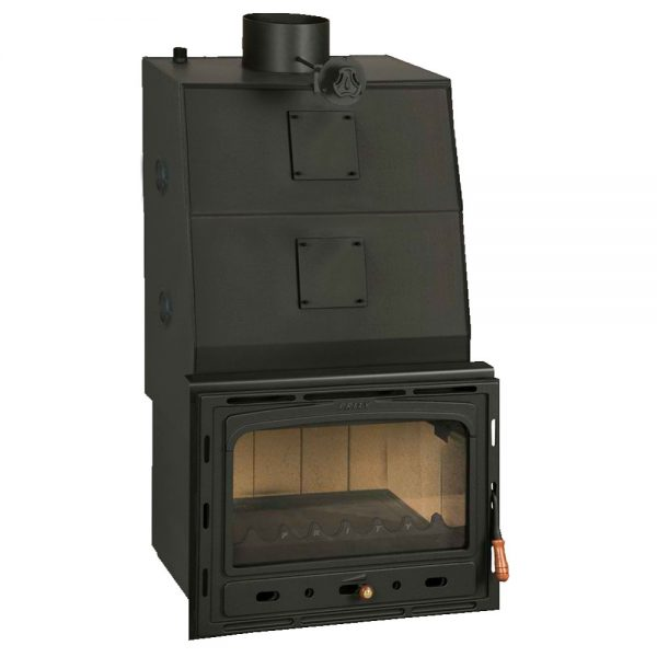 Vgraden Kamin PRITY CW 35 Y Моќ: 40 kW Погоден за простории до 220 m2 Големина ( a x b x h /cm) : 66 x 57 x 115 /cm Тежина : 198 кг