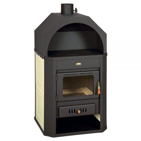 Kamin PRITY W17 3Gy Моќ: 23 kW Погоден за :130 m2 Големина : 65 x 55 x 116 cm Литража на котел : 18l