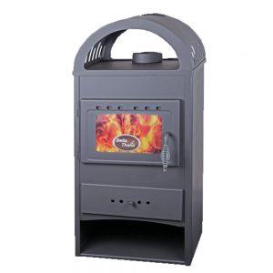 Печка TRGOPRODUKT Thalia NERA PLUS Моќ: 6,5 kW Погоден за простории до 36m2 Големина ( a x b x h /cm) : 98 x 43 x 36 /cm Тежина : 60 кг