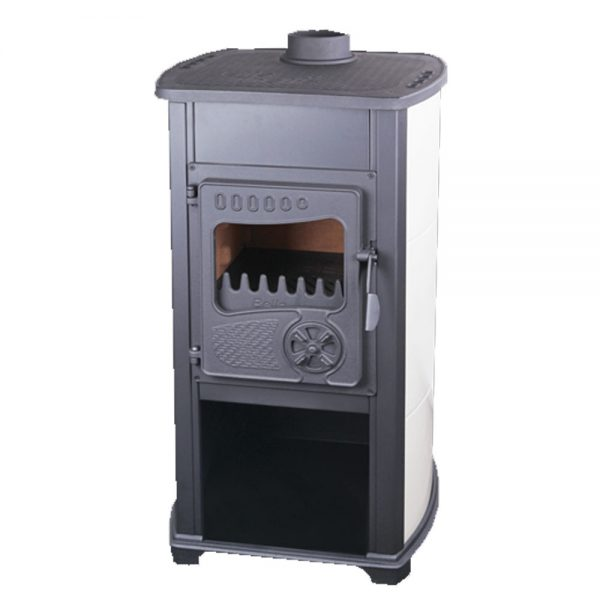 Печка TRGOPRODUKT Thalia (BELLA) Моќ: 6,2 kW Погоден за простории до34 m2 Големина ( a x b x h /cm) : 90 x 49 x 44 /cm Тежина : 75 кг