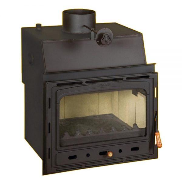 Vgradni Kamini PRITY CW 18 y Моќ: 22 kW Погоден за простории до 122 m2 Големина ( a x b x h /cm) : 65 x 65 x 65 /cm Тежина : 135 кг