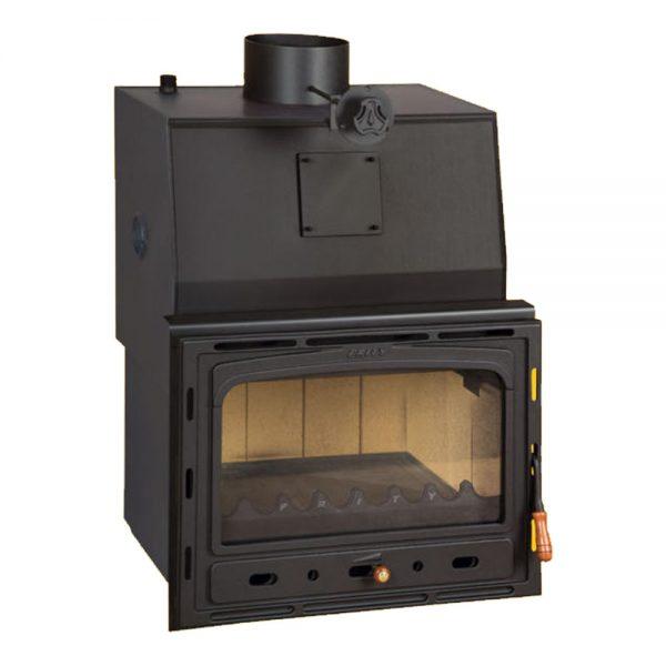 Vgraden Kamin PRITY CW 28 y Моќ: 32 kW Погоден за простории до 180 m2 Големина ( a x b x h /cm) : 65 x 65 x 65 /cm Тежина : 161 кг
