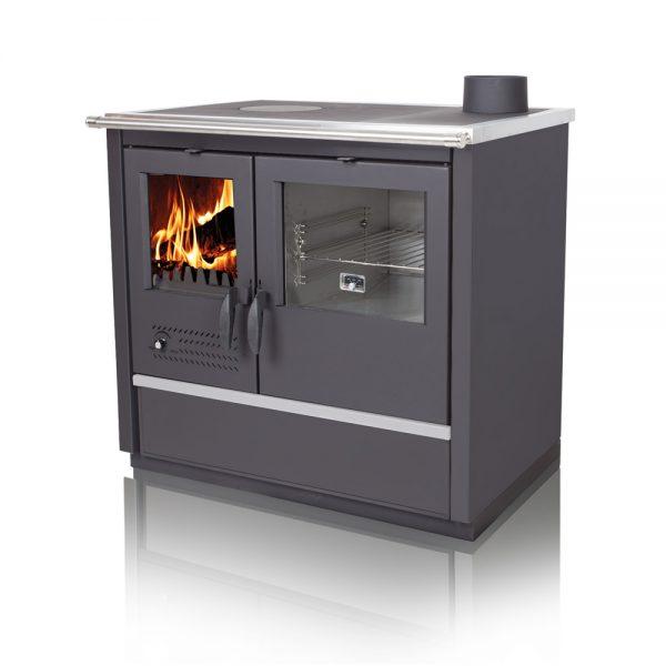 Печка за парно TIM SISTEM NORTH лев Моќ: 12 kW Погоден за :67 m2 Големина : 92,5 x 60 x 85 cm Иноксни страници