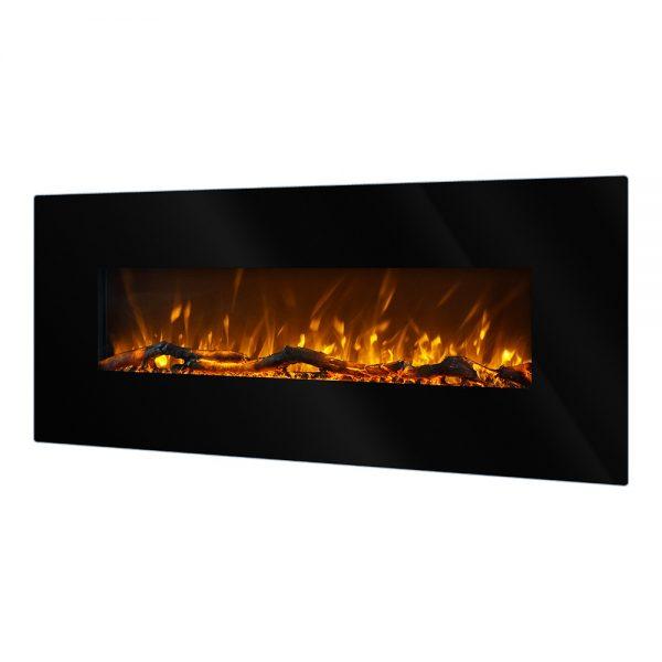 Elektricen Kamin ART FLAME MADRID LED Убава модерна визија и елегантен дизајн Моќ: 750/1500 W Димензии (Ш x В x Д) : 1280 x 550 x 140 mm Тежина: 18,2 кг