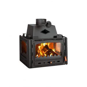 Kamin PRITY 3C Камин Моќ: 16 kW Големина ( a x b x h /cm) : 77 x 59 x 72 cm Тежина : 133 kg