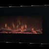 Elektricen Kamin ART FLAME MARKUS - Моќ: 750/1500 W - Димензии (Ш x В x Д): 840*450*131 mm - Погоден за простории : 20 m² - Електронски тајмер: Да